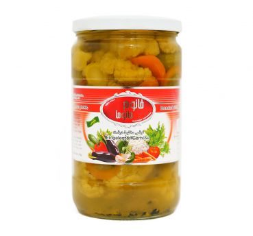 Pickled vegetables - Khanum Khanuma